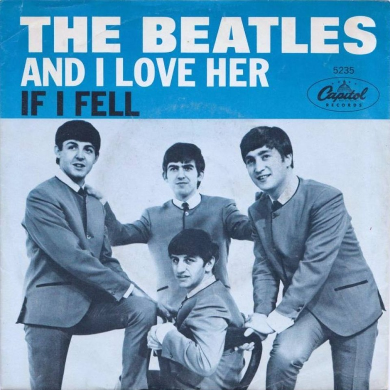 single (USA, Capitol) And I Love Her / 1964