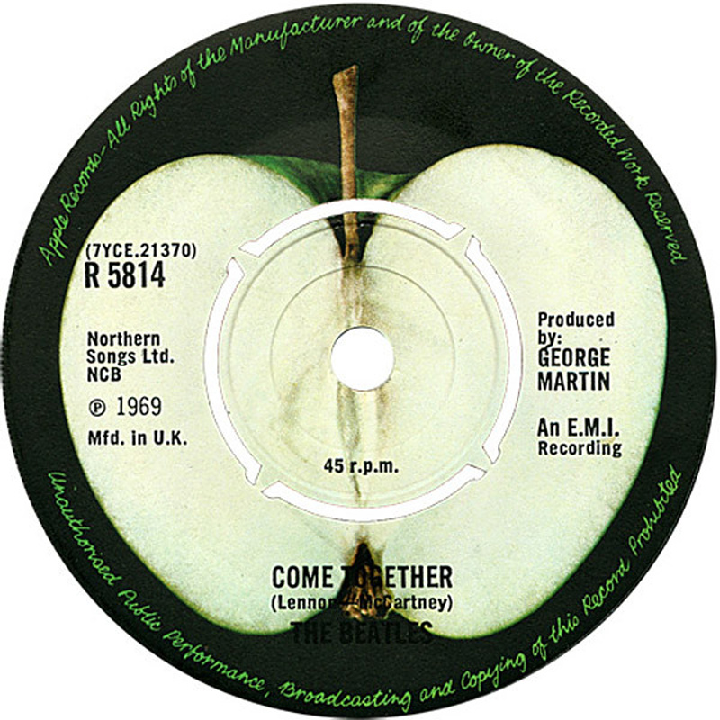 Something / Come Together (Apple) / 1969
