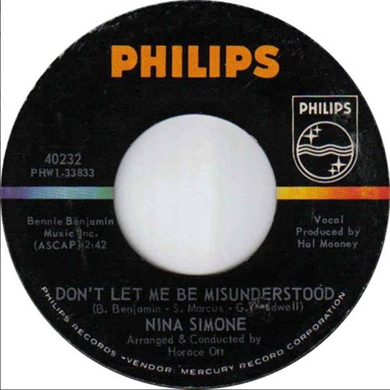 Don't Let Me Be Misunderstood / A Monster (Philips) / 1964
