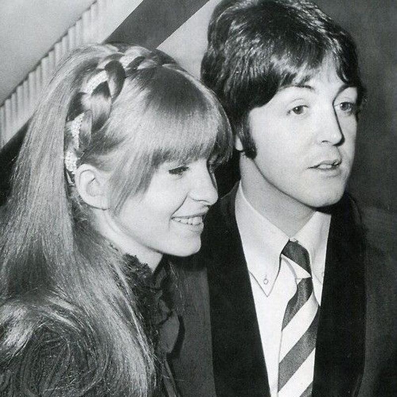 Paul McCartney with Jane Asher