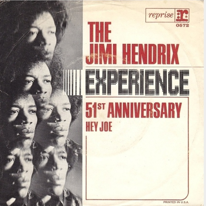 The Jimi Hendrix Experience - Hey Joe / Stone Free (1966)