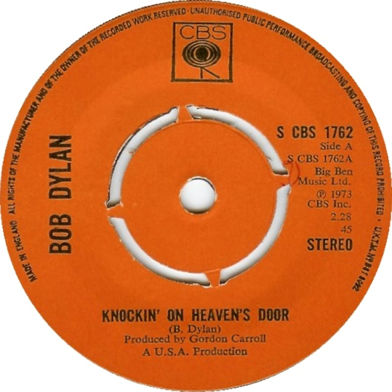 Knockin' On Heaven's Door - Turkey Chase / 1973