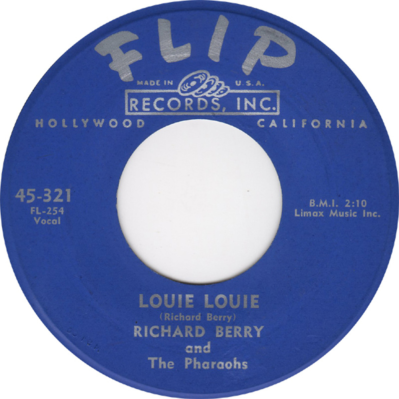 Richard Berry And The Pharaohs - Louie Louie / 1957