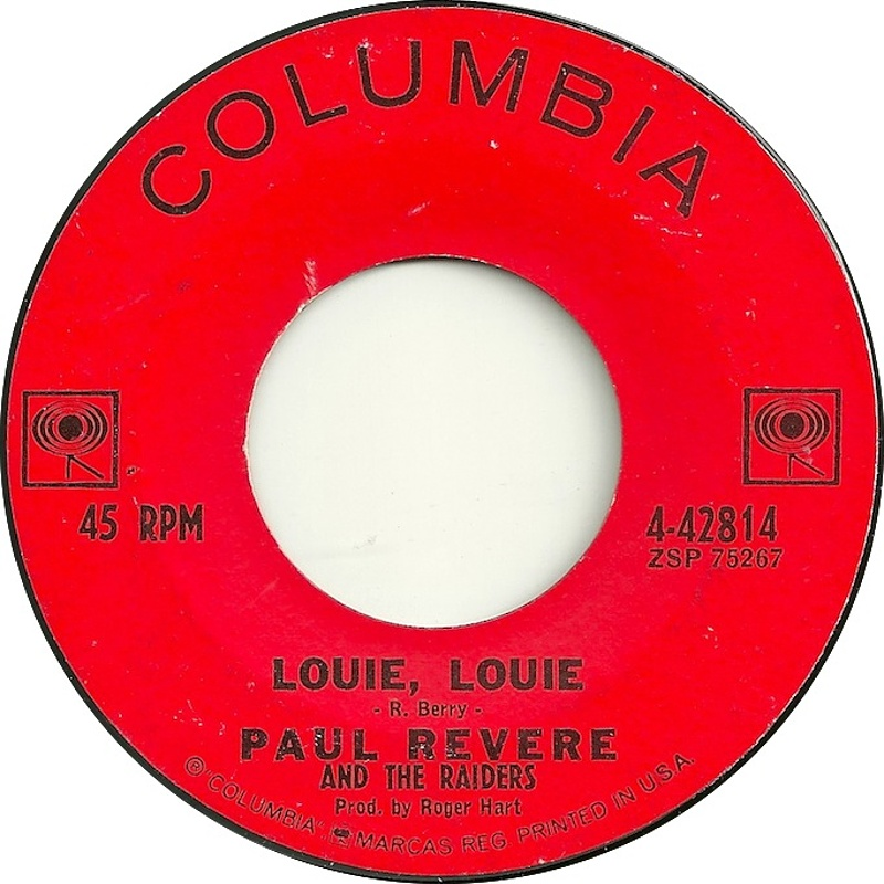Paul Revere And The Raiders / Louie Louie / 1963