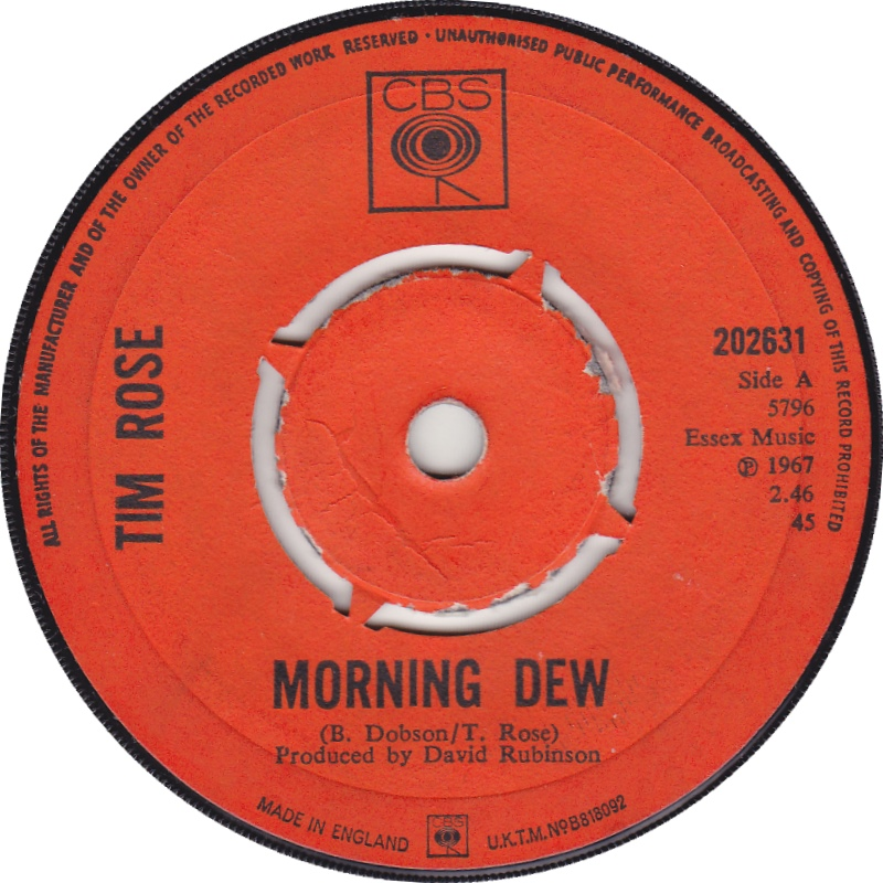 Morning Dew / You're Slipping Away From Me / 1967