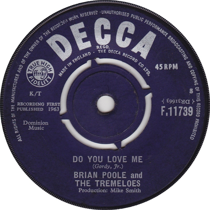 Brian Poole And The Tremeloes / Do You Love Me