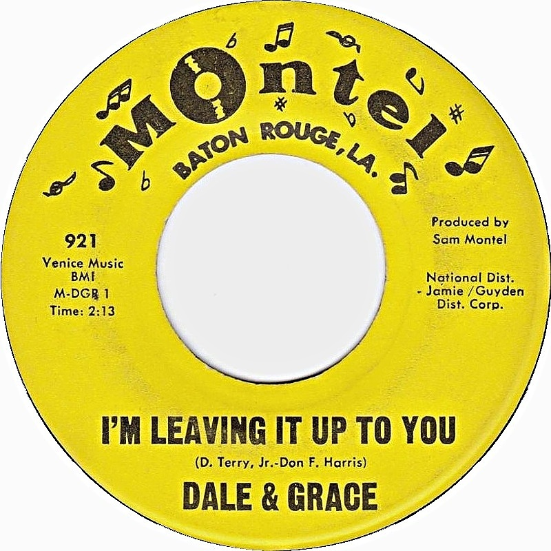 Dale & Grace / I'm Leaving It Up To You