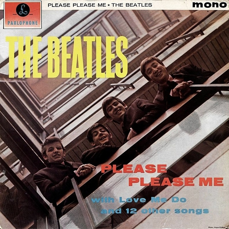 PLEASE PLEASE ME by The Beatles / 1963