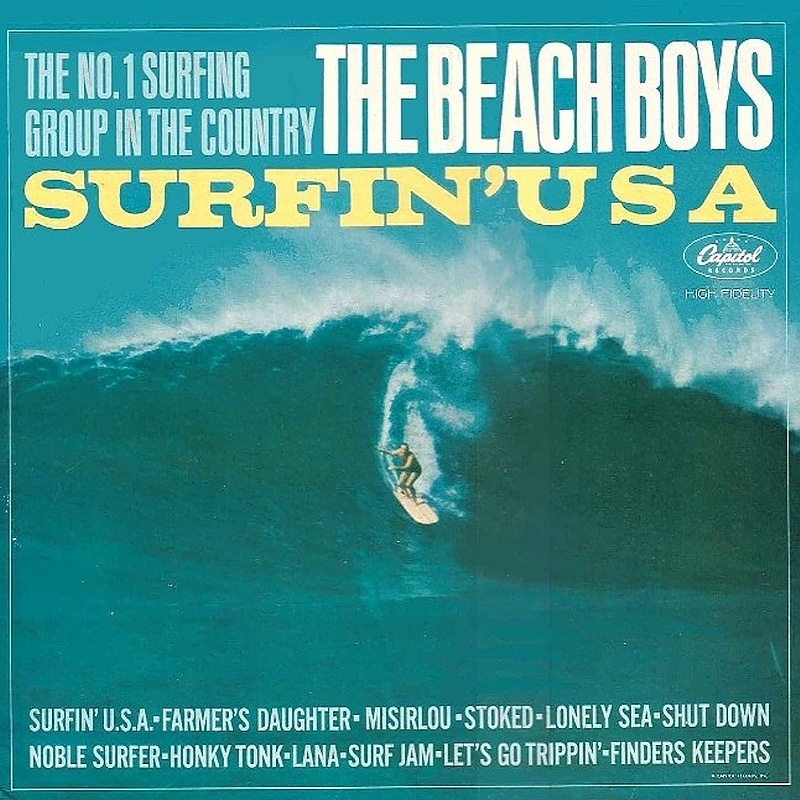 SURFIN' U.S.A. by The Beach Boys (1963)