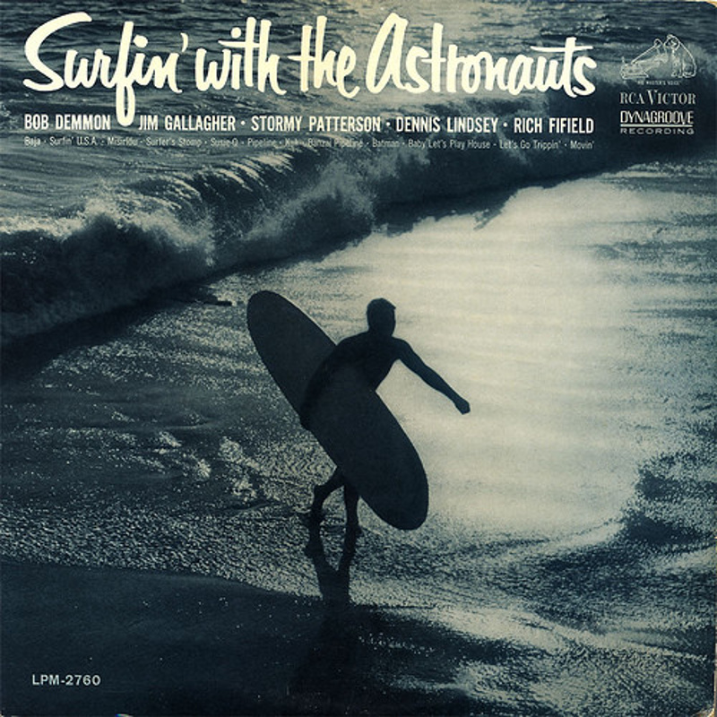 SURFIN' WITH THE ASTRONAUTS by The Astronauts (1963)