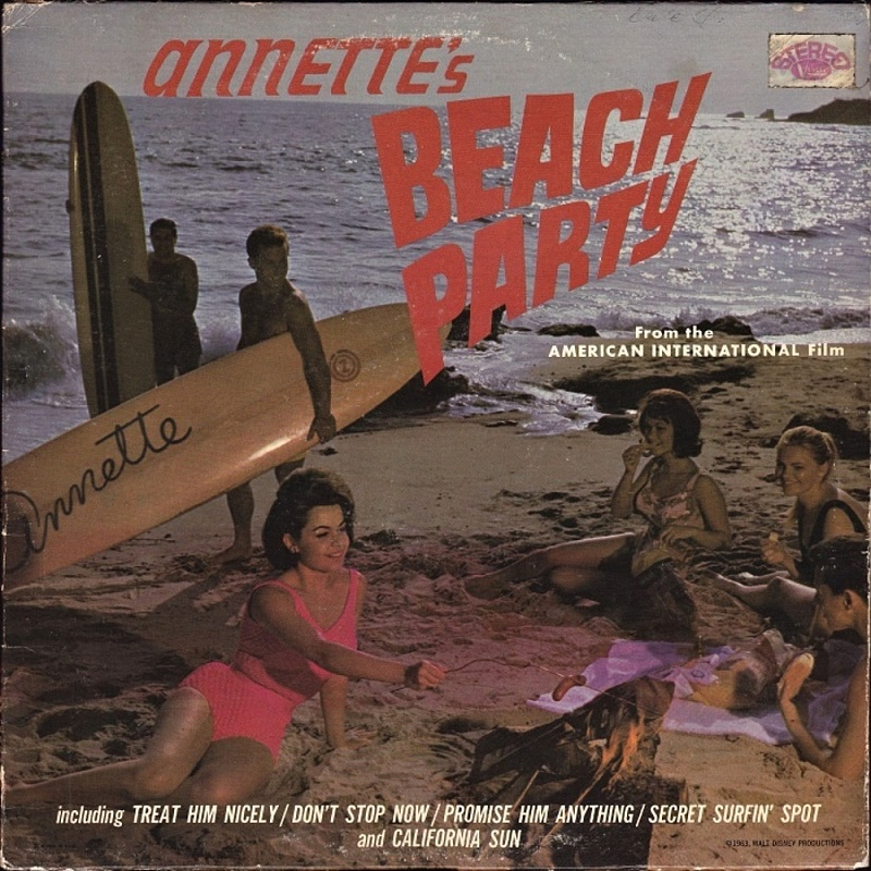 ANNETTE'S BEACH PARTY by Annette (1963)
