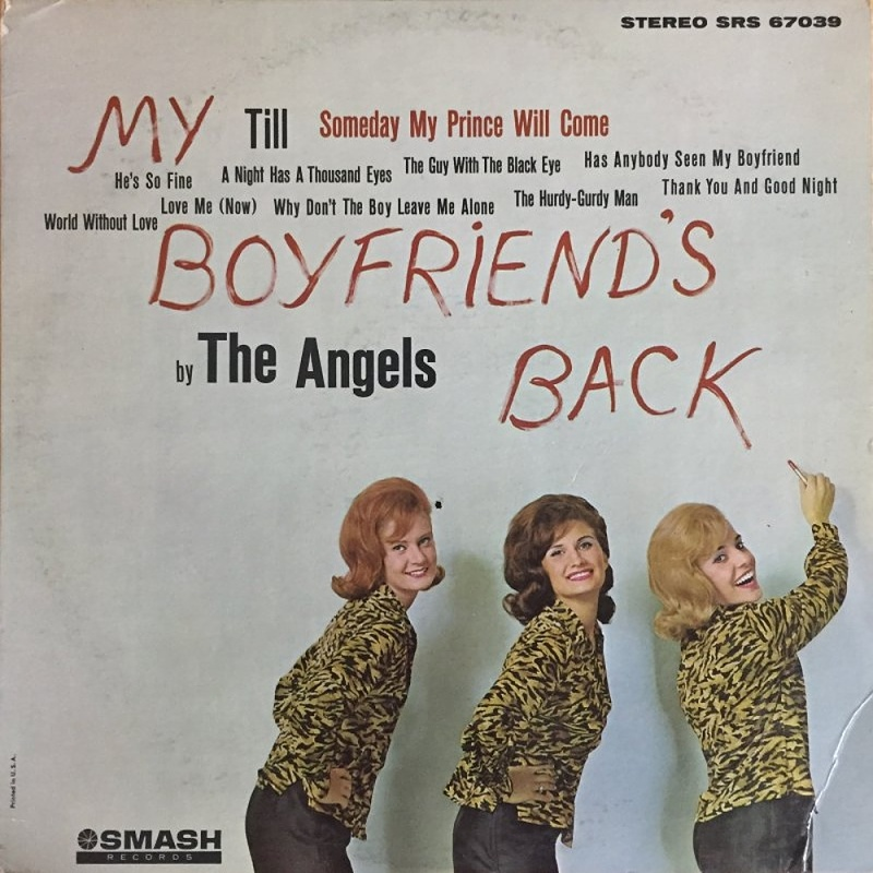 MY BOYFRIEND'S BACK by The Angels (1963)