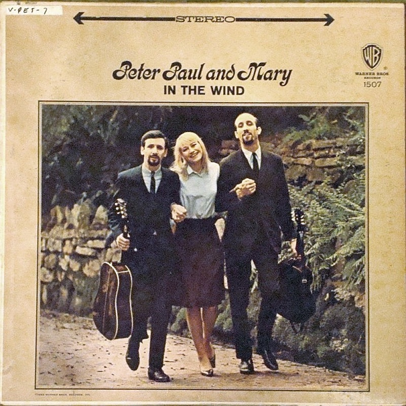 IN THE WIND by Peter, Paul And Mary (1963)