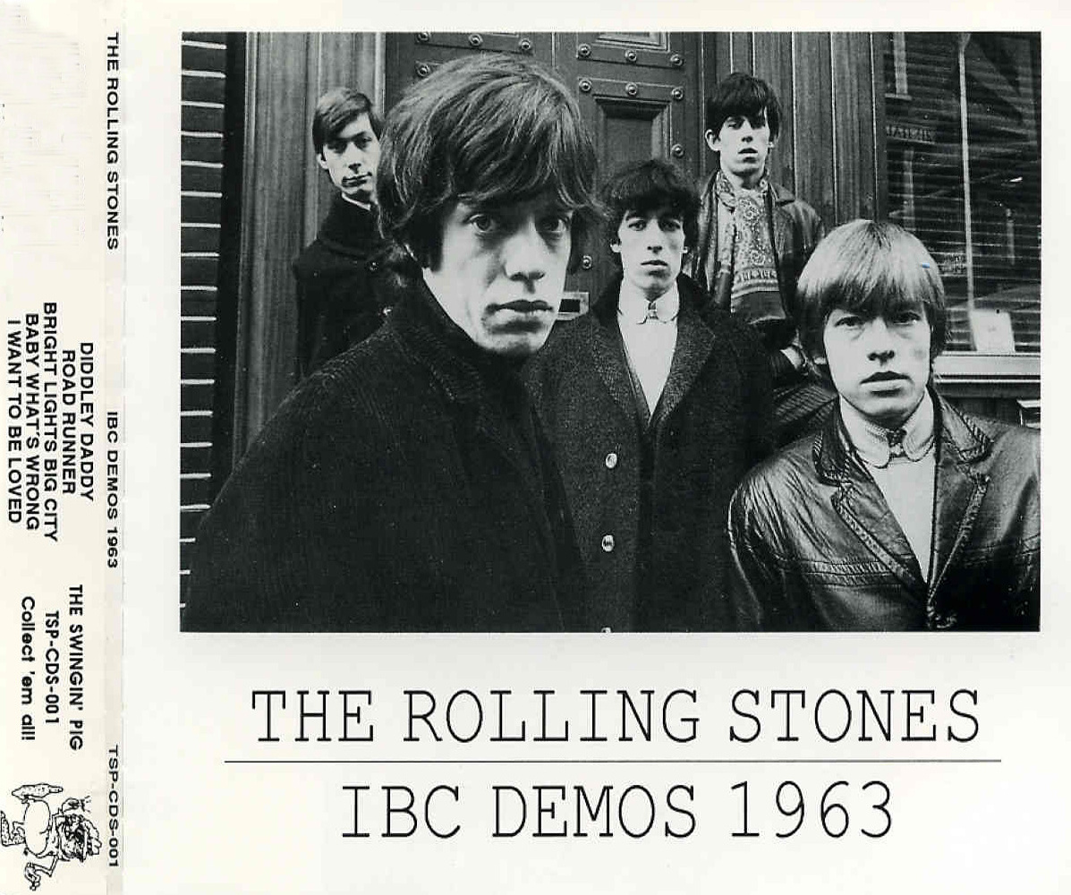 The ROLLIN' STONES IBC Studios, Portland Place, London / March 11, 1963