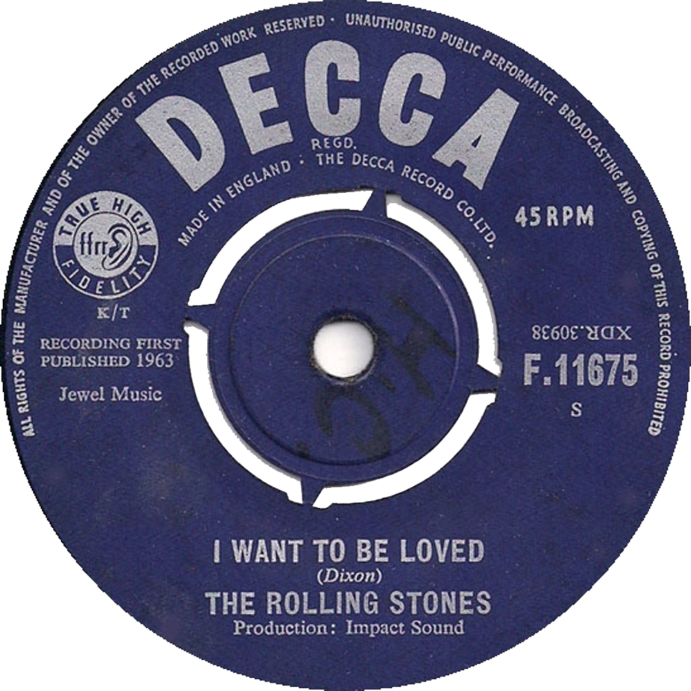 The Rolling Stones - Come On / I Want To Be Loved (1963)
