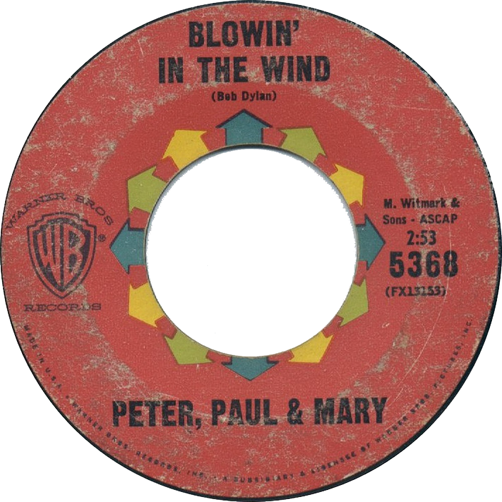 Peter, Paul And Mary - Blowin' In The Wind / 1963