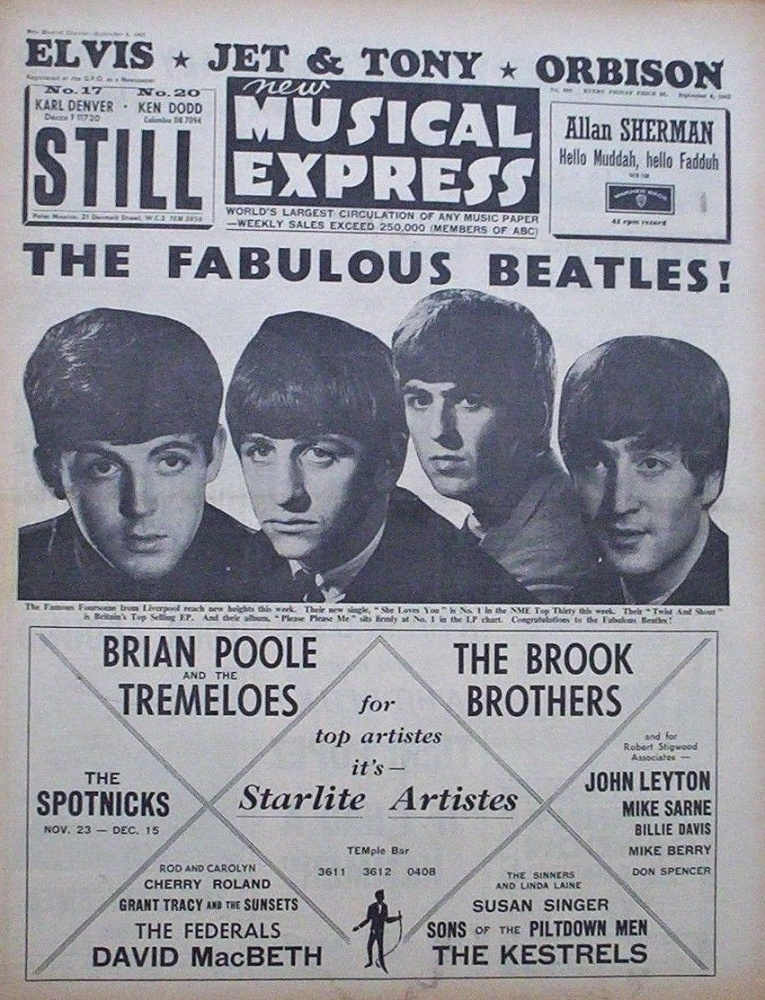 New Musical Express / 06.09.1963