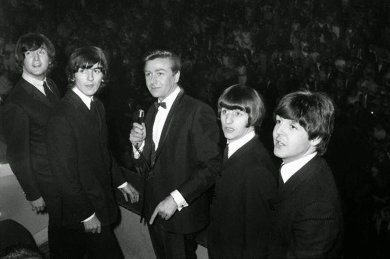 The Beatles на концерте Great Pop Prom at London's Royal Albert Hall / 15.09.1963