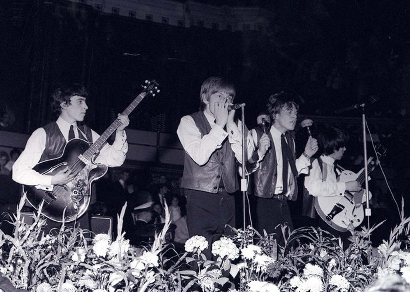 The Rolling Stones на концерте Great Pop Prom at London's Royal Albert Hall / 15.09.1963