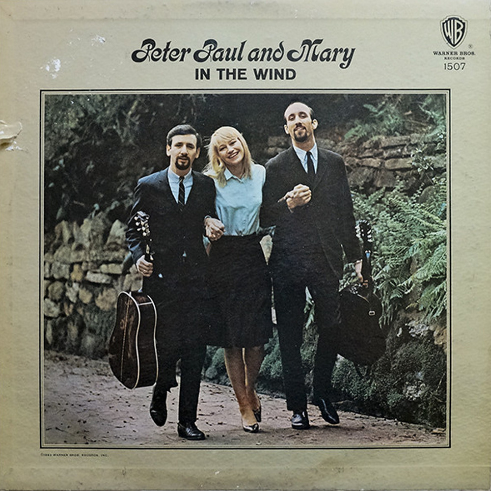 Peter, Paul And Mary - IN THE WIND / 1963