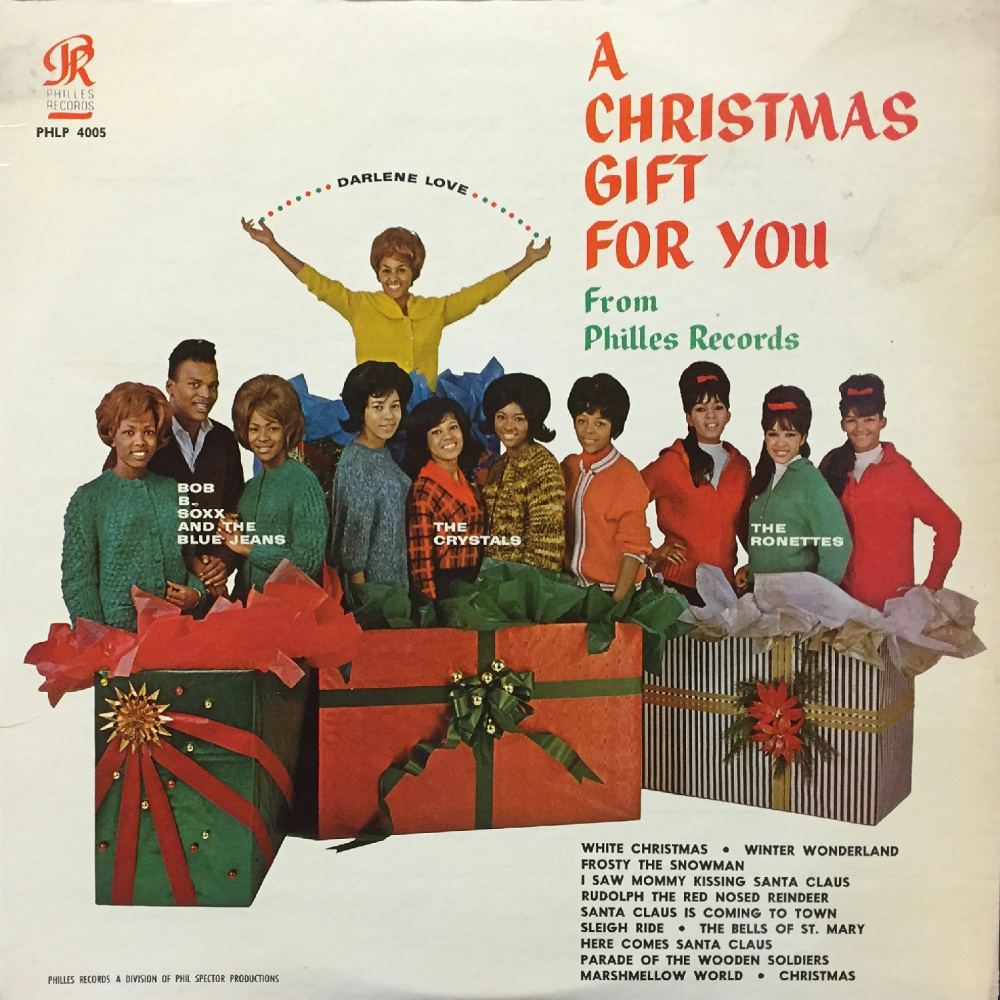 Phil Spector - A CHRISTMAS GIFT FOR YOU / ноябрь 1963