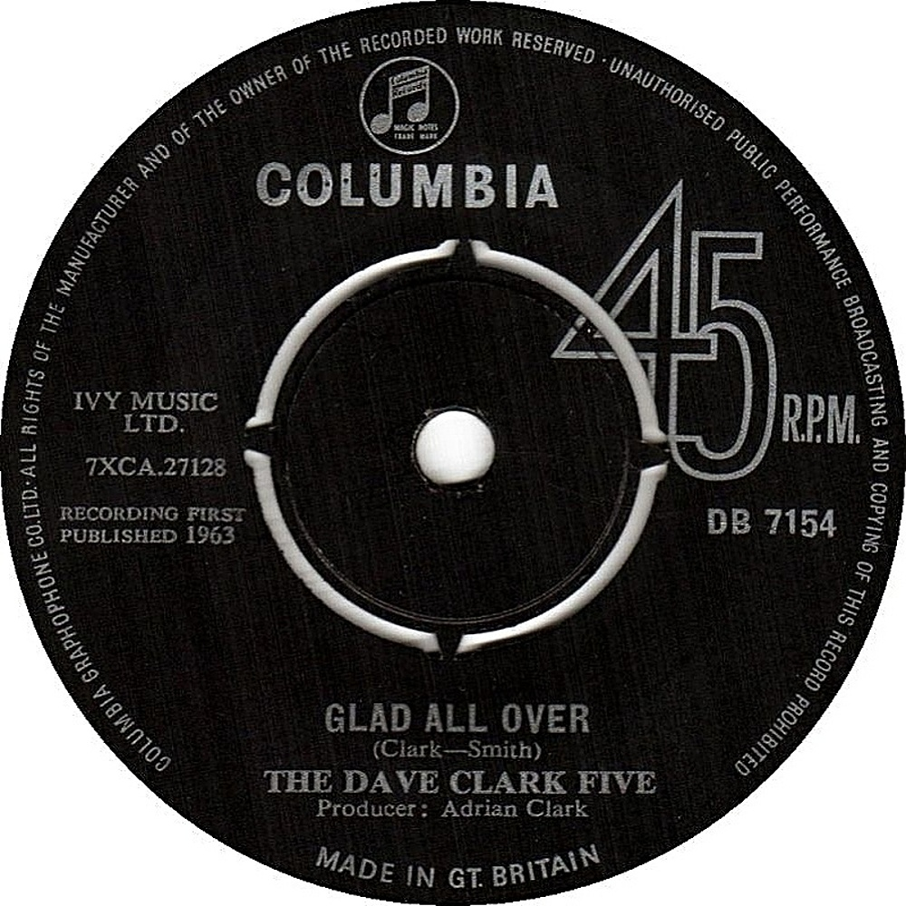 The Dave Clark Five / Glad All Over