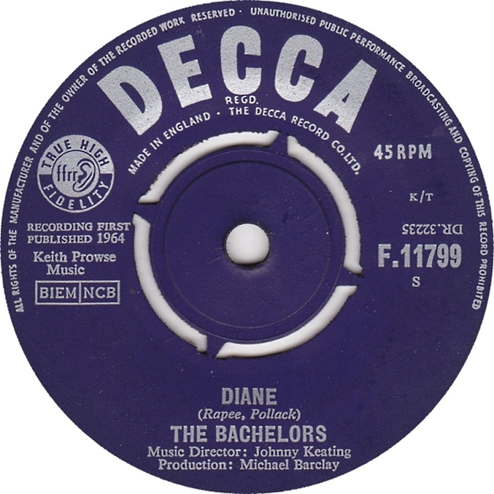 The Bachelors / Diane