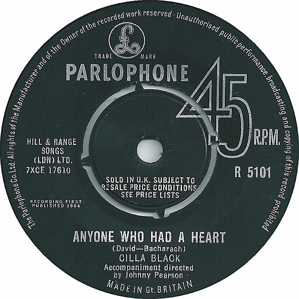 Cilla Black /  Anyone Who Had A Heart
