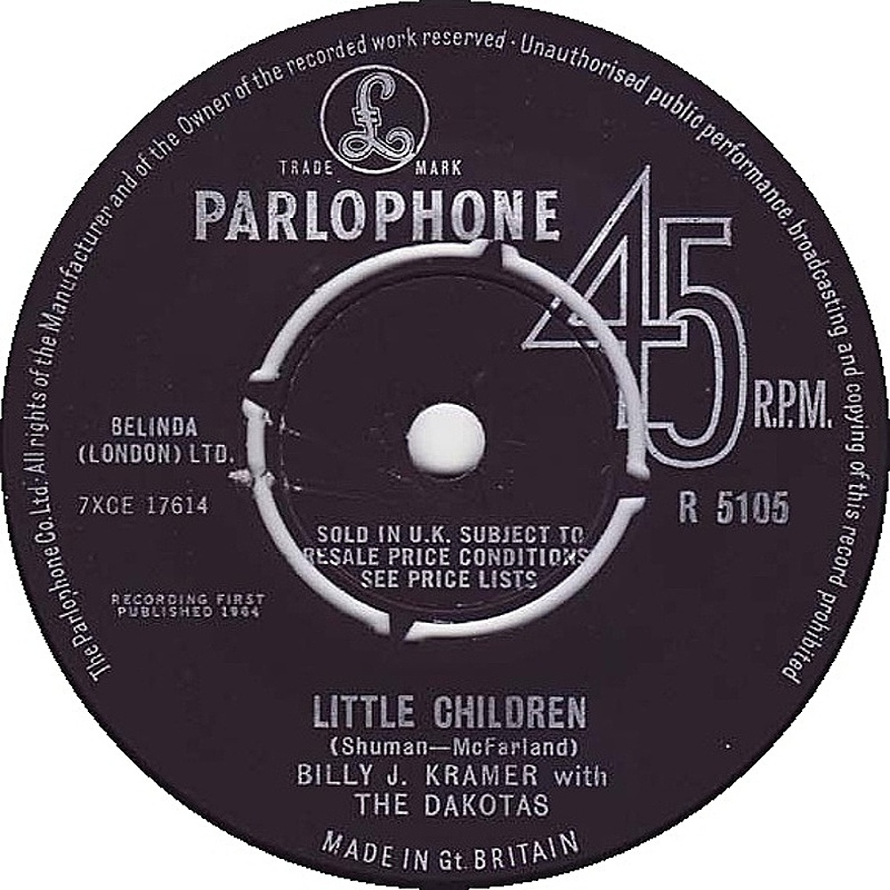 Billy J. Kramer & The Dakotas / Little Children