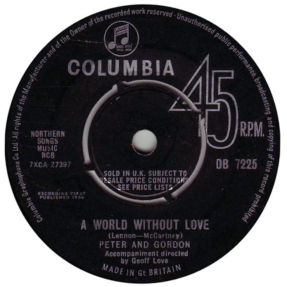 Peter And Gordon / World Without Love