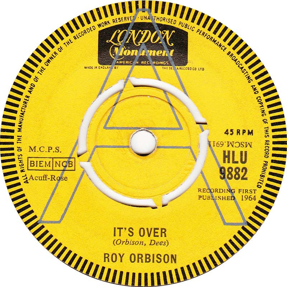 Roy Orbison / It's Over