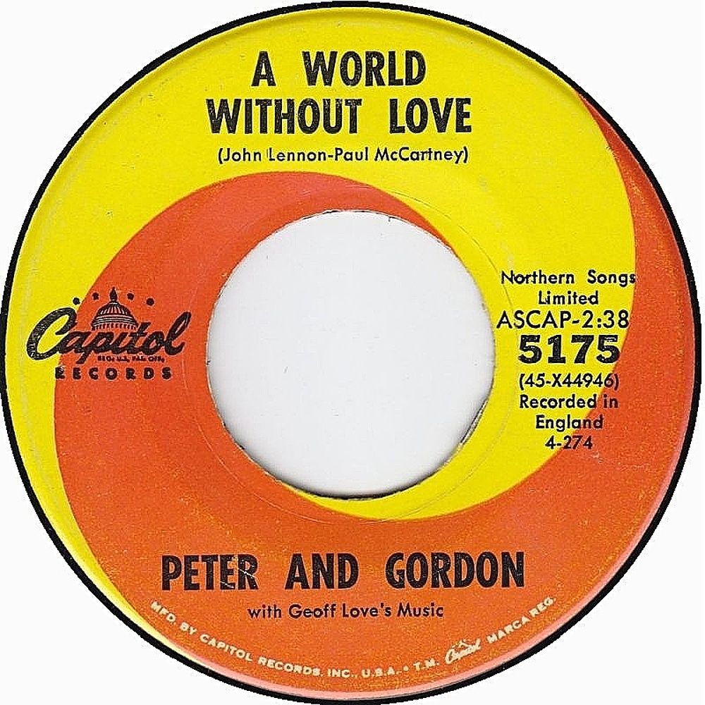 Peter & Gordon / A World Without Love