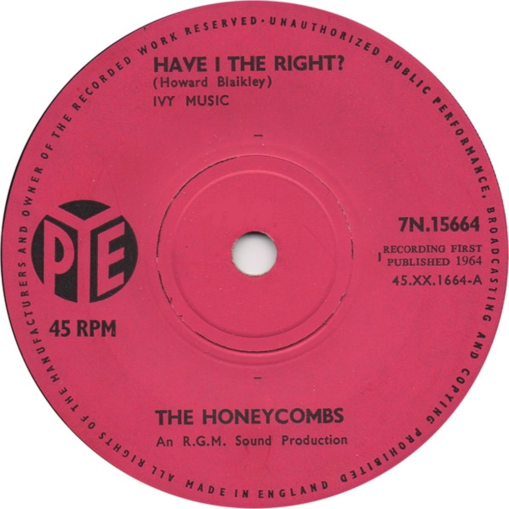 The Honeycombes / Have I The Right?