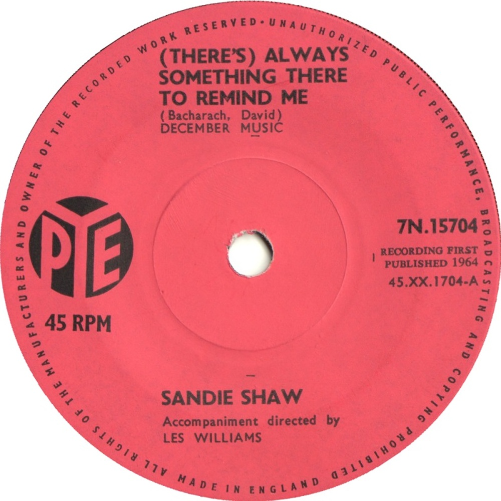 Sandie Shaw / (There's) Always Something There To Remind Me
