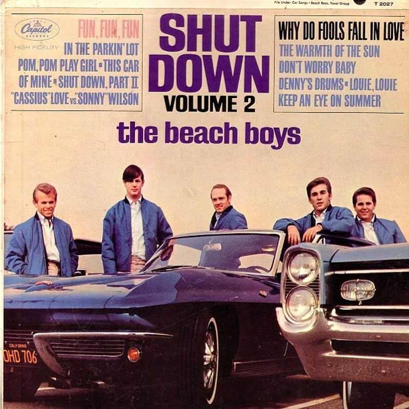 SHUT DOWN VOL.2 by The Beach Boys (1964)