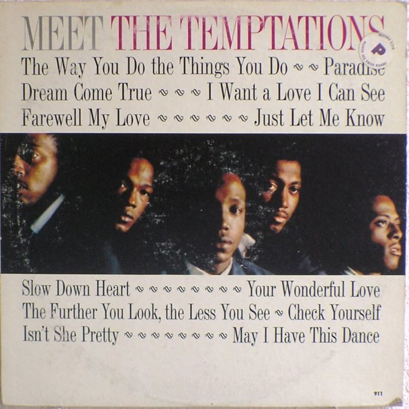 MEET THE TEMPTATIONS by The Temptations (1965)