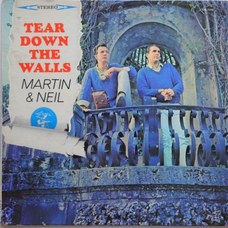 TEAR DOWN THE WALLS by Vince Martin And Fred Neil (1964)