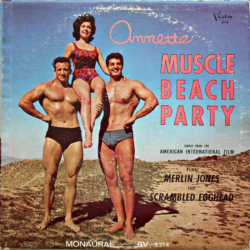 MUSCLE BEACH PARTY by Annette (1964)