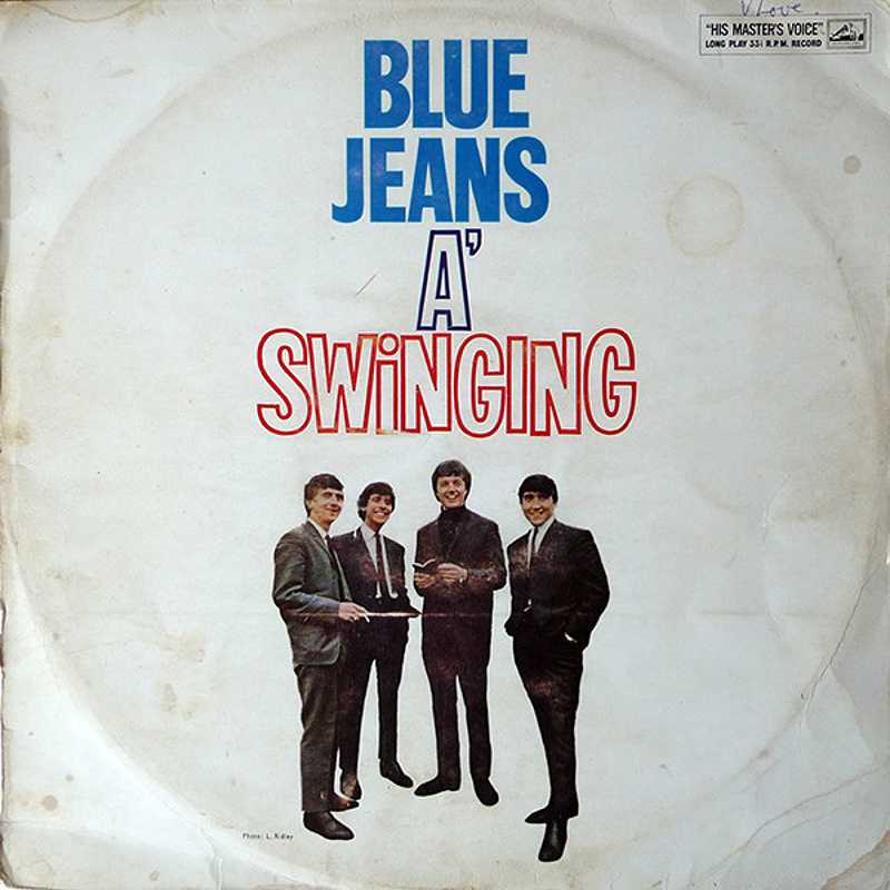 BLUE JEANS A' SWINGING by The Swinging Blue Jeans (1964)