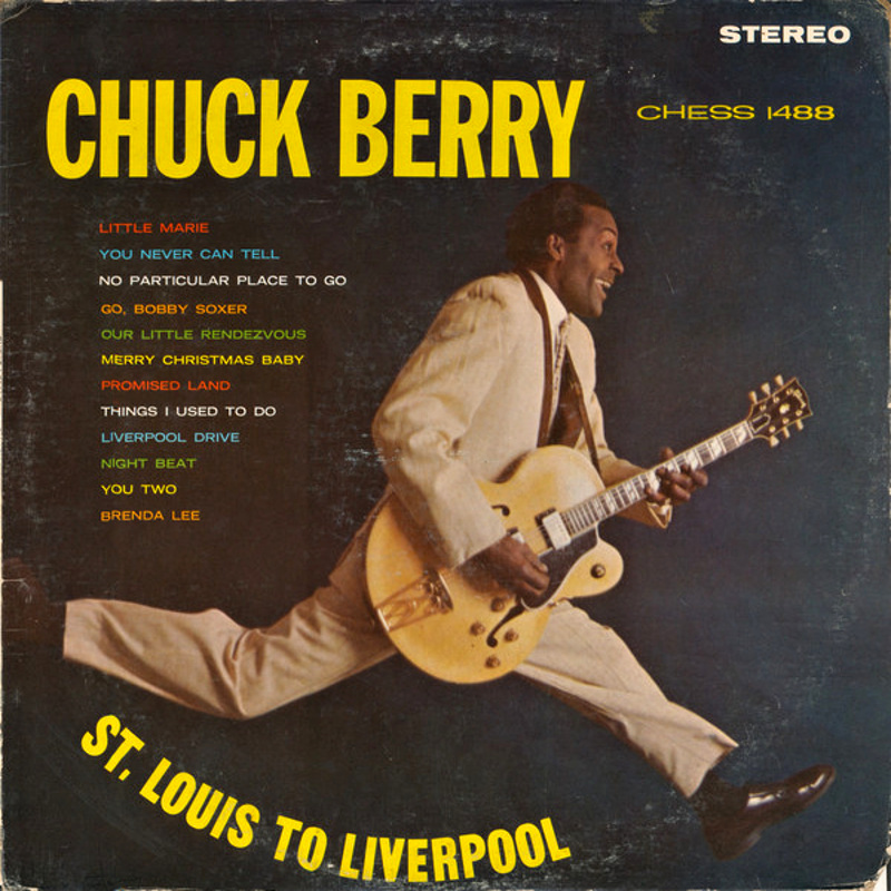 ST. LOUIS TO LIVERPOOL by Chuck Berry (1964)