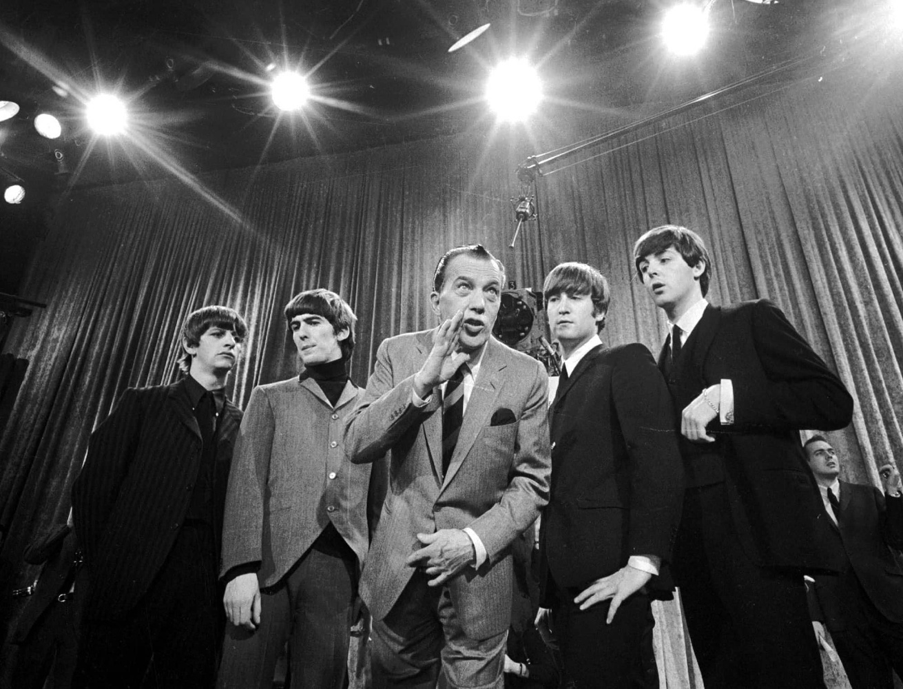 The Beatles' first Ed Sullivan Show / 09 February 1964