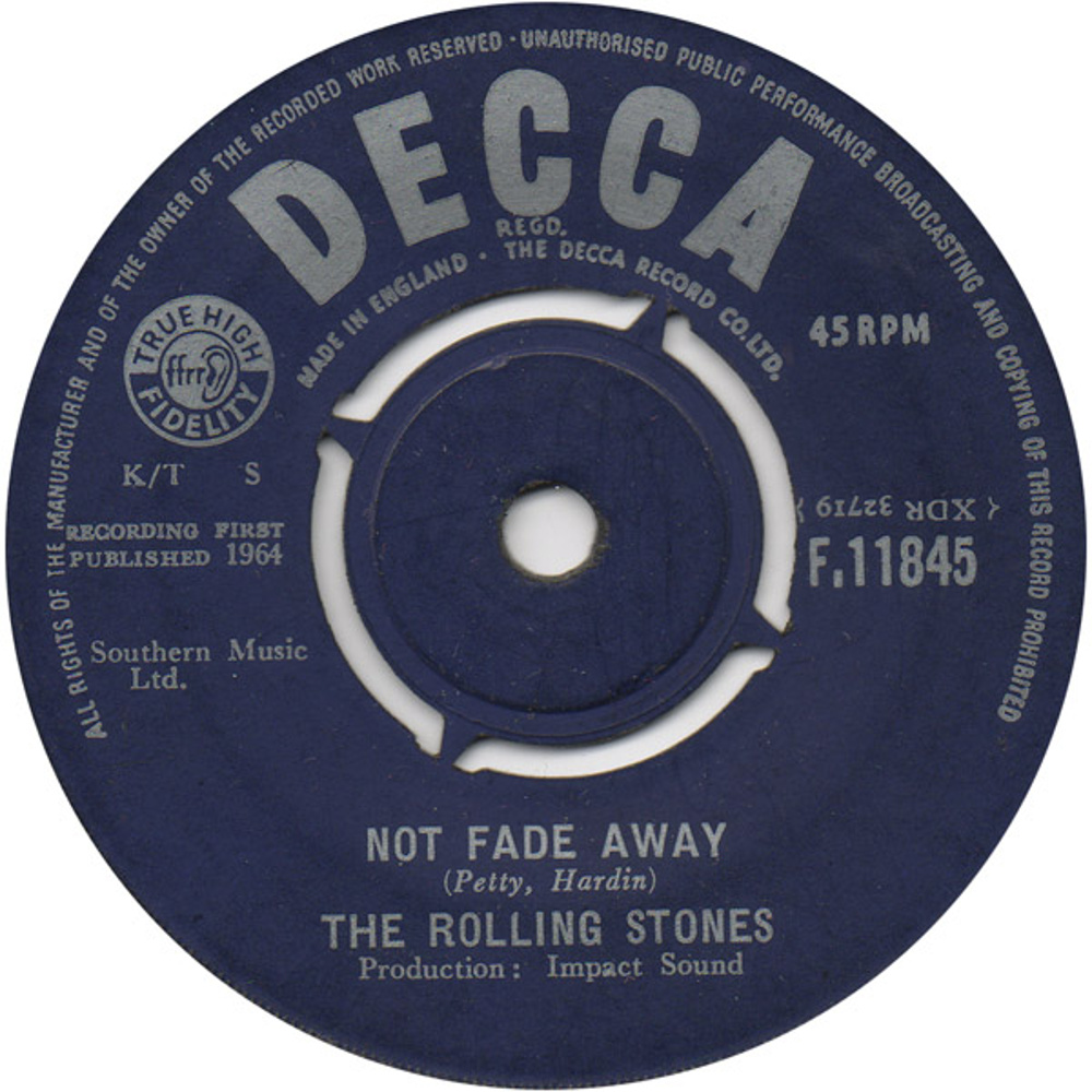 The Rolling Stones - Not Fade Away / Little By Little (1964)