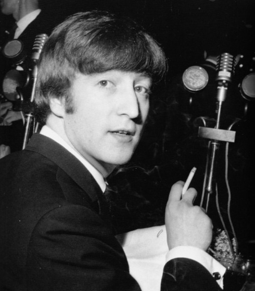 John at the Foyle's Literary Luncheon / 23 April 1964