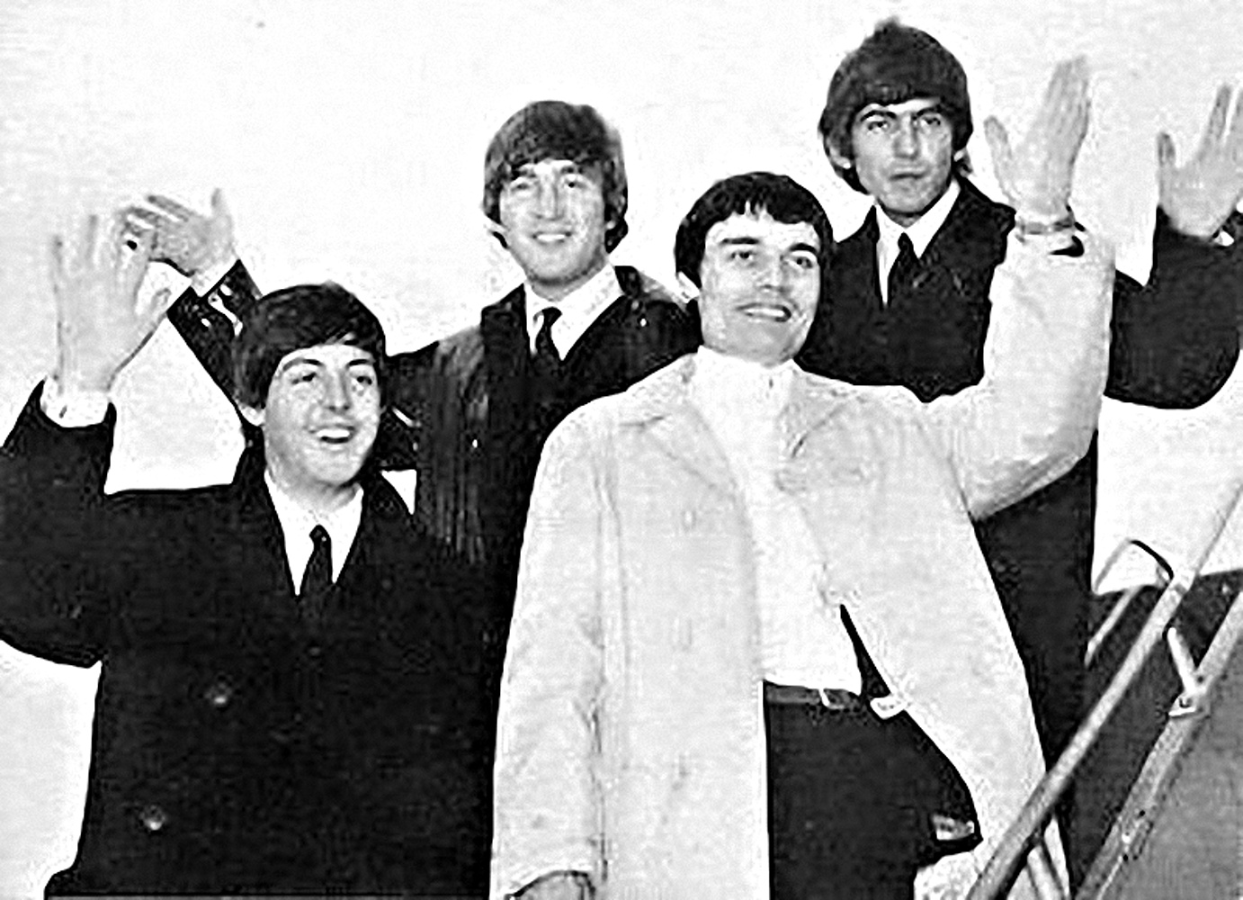 The Beatles with Jimmy Nichol / июнь 1964