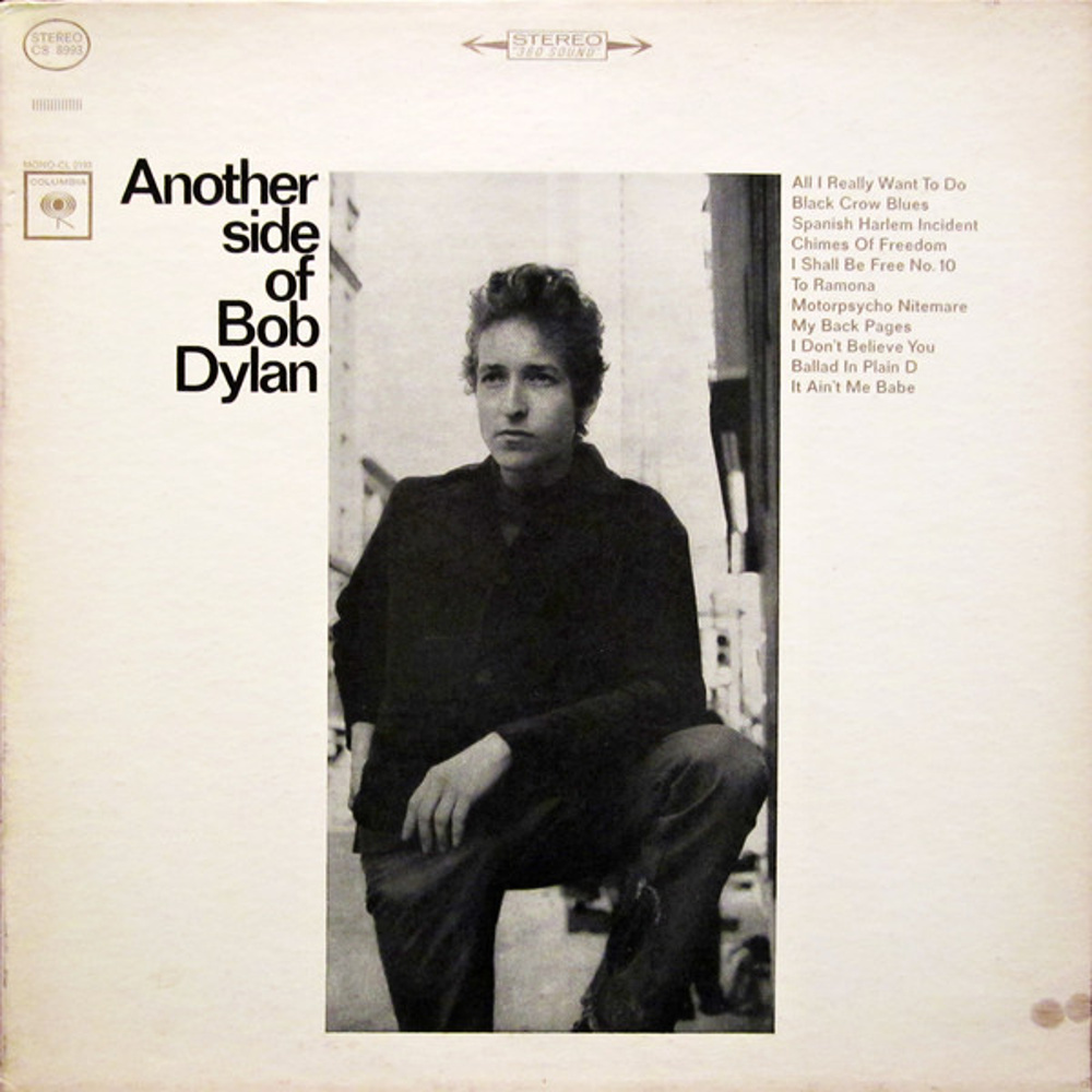 ANOTHER SIDE OF BOB DYLAN by Bob Dylan (1964)