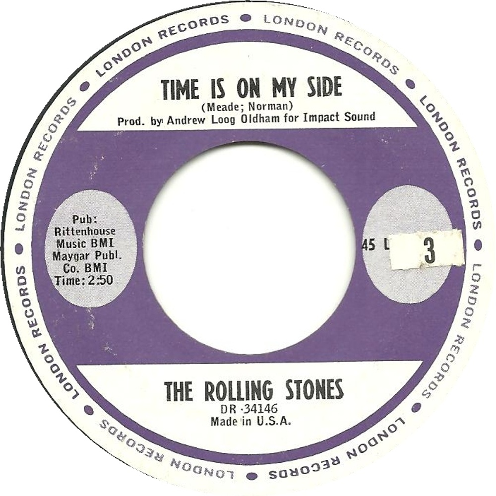 The Rolling Stones - Time Is On My Side / Congratulations / сентябрь 1964