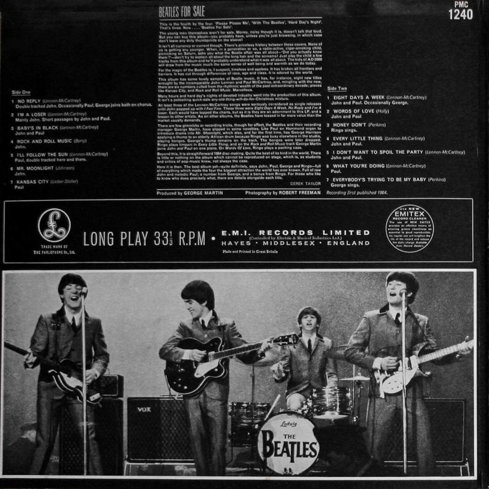 The Beatles ‎/ BEATLES FOR SALE (1964)