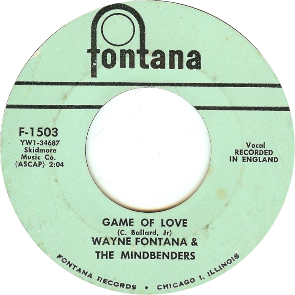 Wayine Fontana & The Mindbenders / The Game Of Love