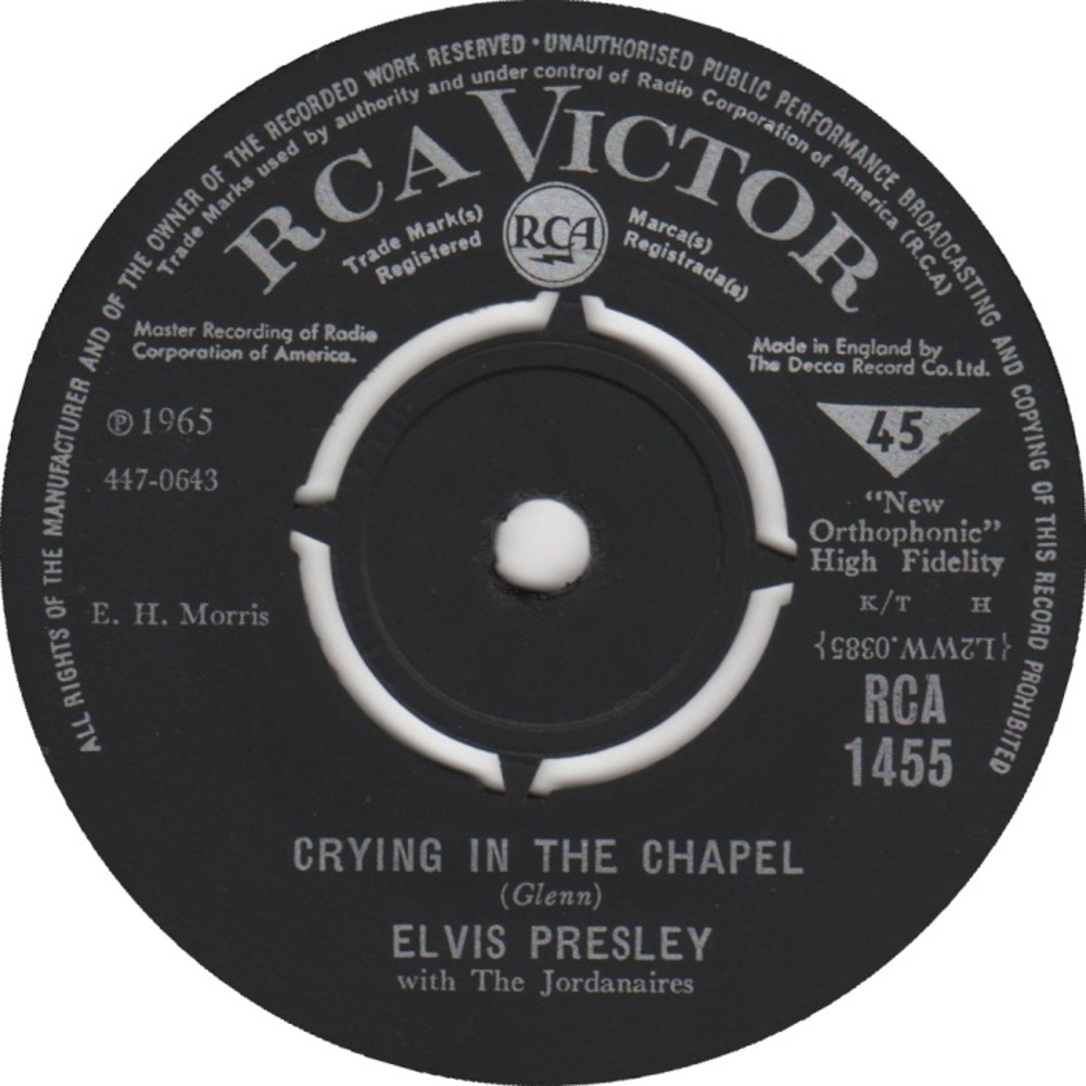 Elvis Presley / Crying In The Chapel