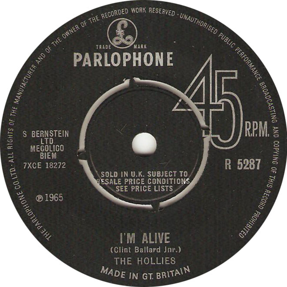 The Hollies / I'm Alive